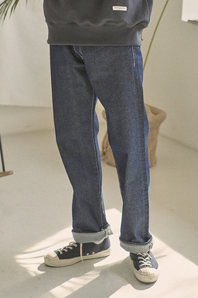 Regular Fit Standard Denim Pants [Indigo]