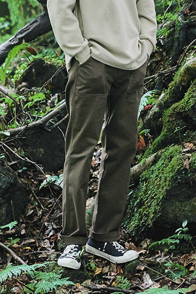 British Fatigue Pants [Brown]