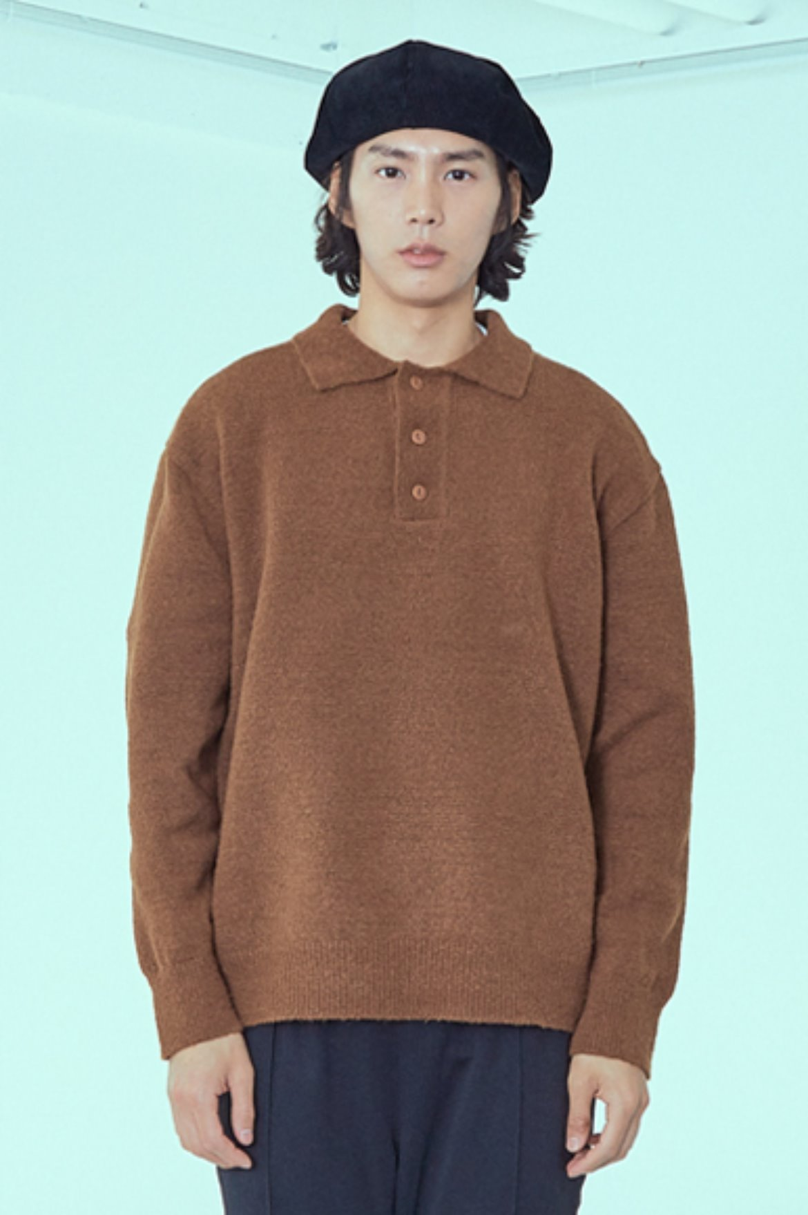 Soft PK Knit [Brown]
