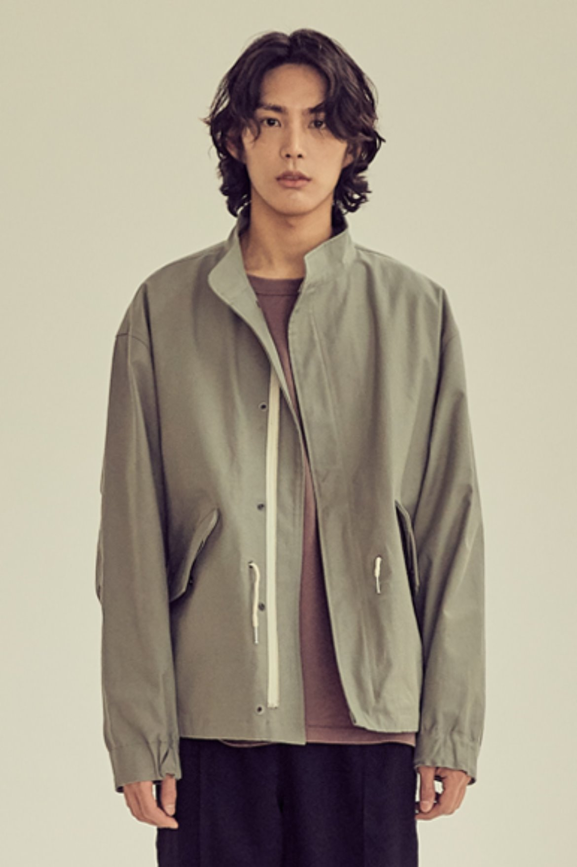 Light Crop M-65 Jacket [Khaki]