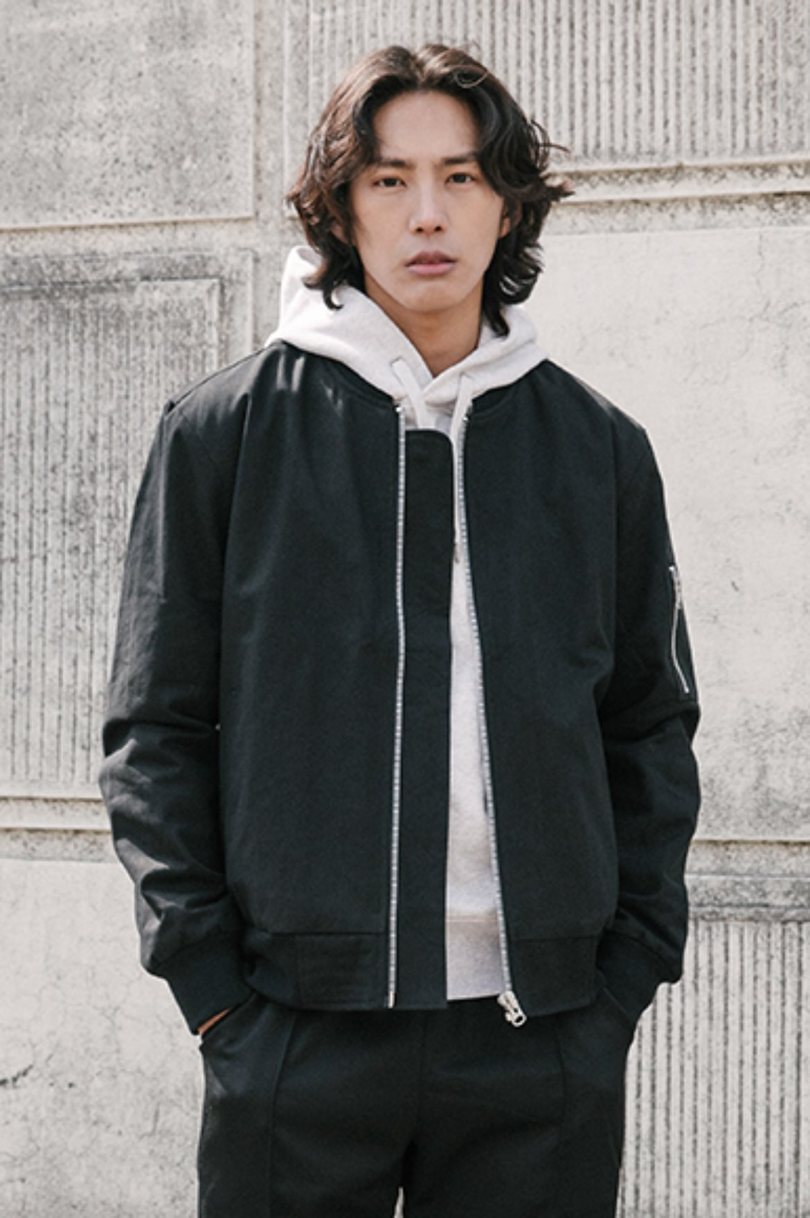 MA-1 Cotton Twill Jacket