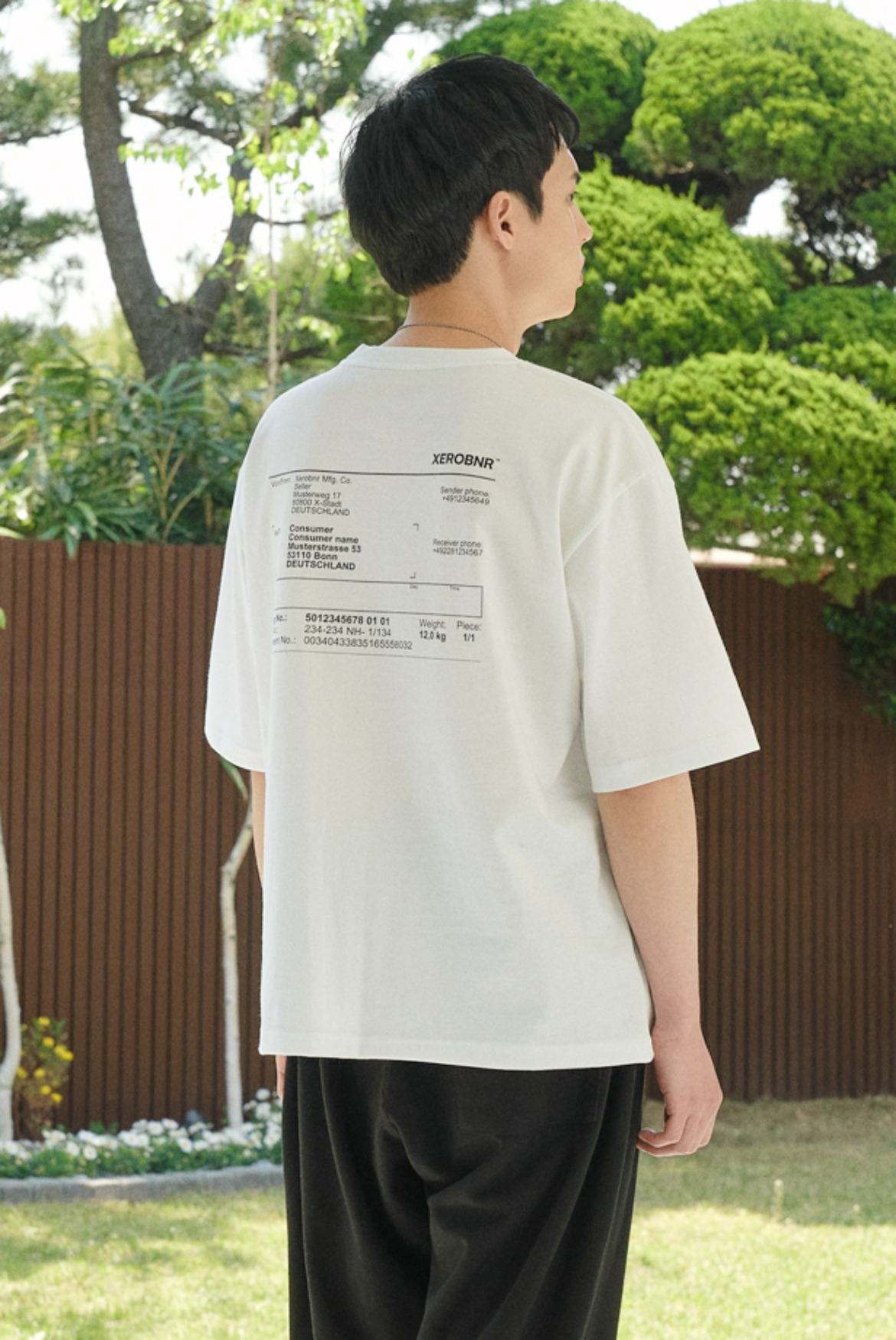Invoice T-Shirts [White]