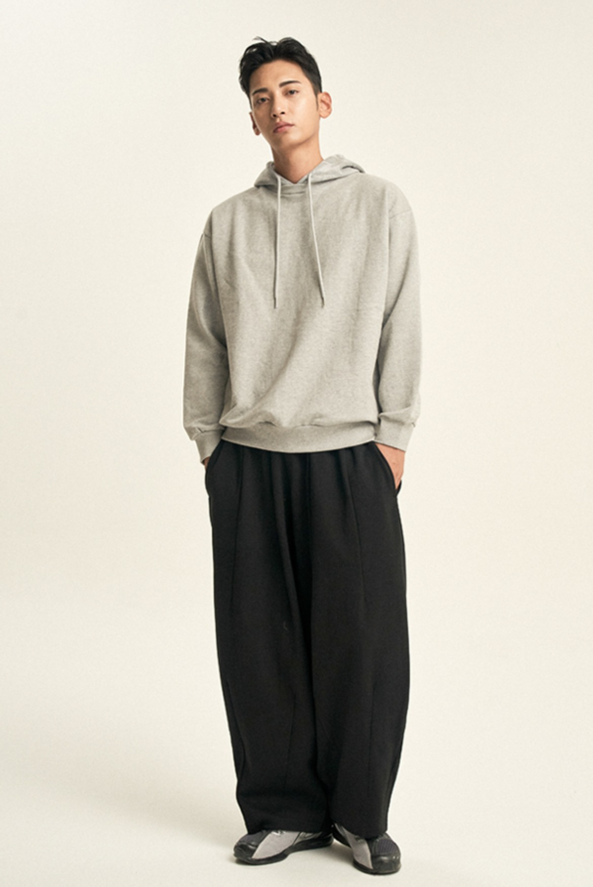 Balloon Sweat Pants [Black]
