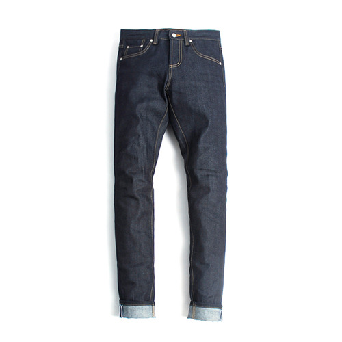"XERO - Rigid Jean With ""Navy"" Stitch"