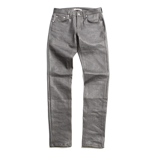 "XERO - Gleam Coated Jeans ""Grey"" Wrinkled Fit"