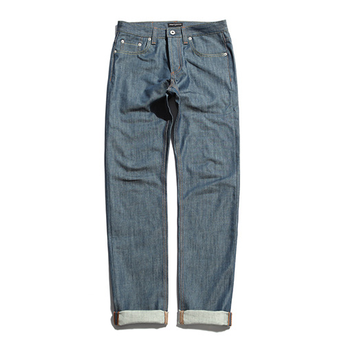 XERO - Green Indigo Raw Denim Pants