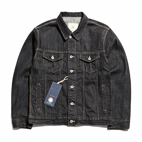 "XERO - Oversized Denim Jacket ""Washed Black"""