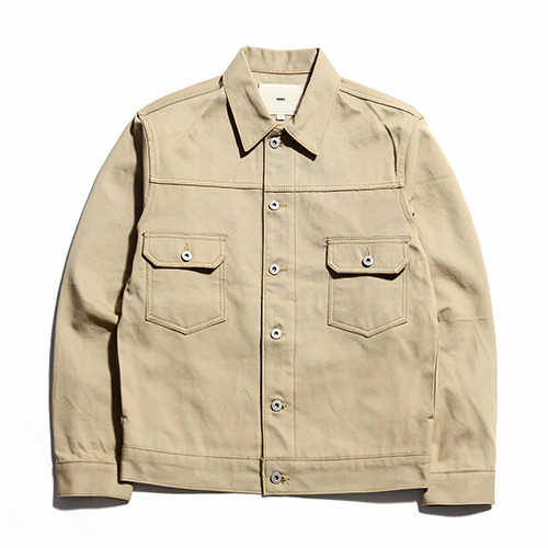 "XERO - Jungle Cloth Work Jacket ""Beige"""