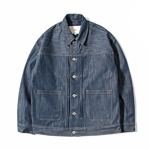 XERO - Oversized Type-2 Denim Jacket (Light Indigo)