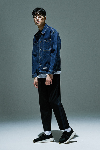 Easy Trucker Jacket [Mid Indigo]