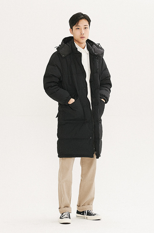 Long Heavy Down Parka