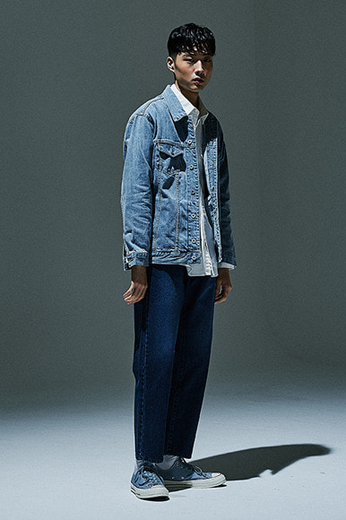 "XERO - Oversized Denim Jacket ""Light Blue"""