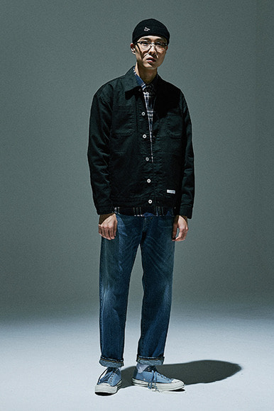 Easy Trucker Jacket [Black]