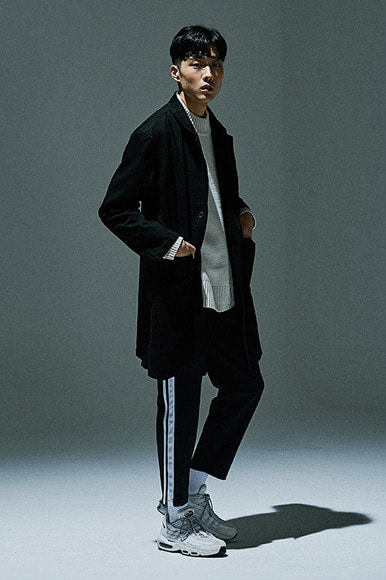 Tailored Long Jacket [Black]