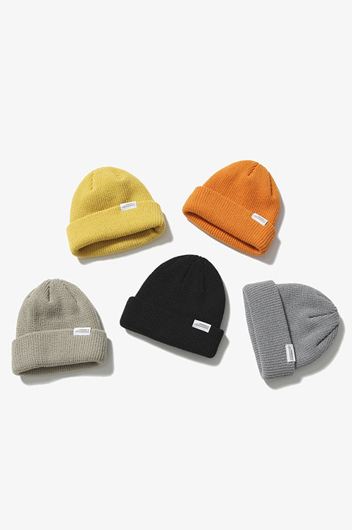 Easy Knit Cap [5 Colors]