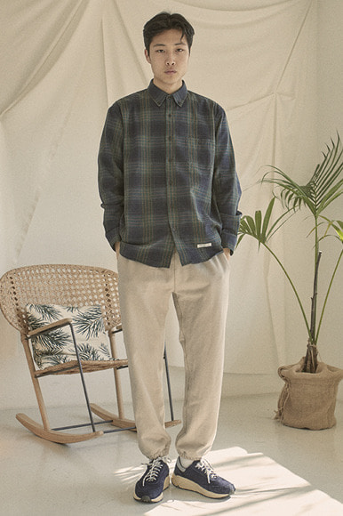 Easy PK Check Shirts [Green]