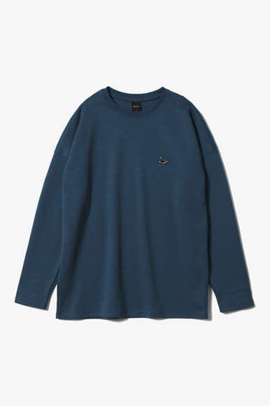 Sealion L/S T-Shirts [Deep Blue]