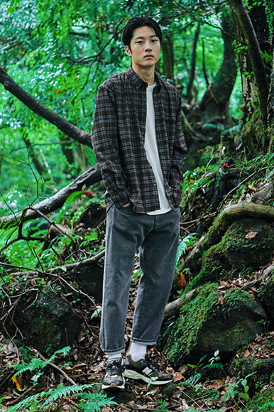 Deep Highland Check Shirts [Brown]