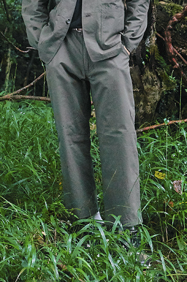 Rip-Stop Set Up Pants [Khaki]