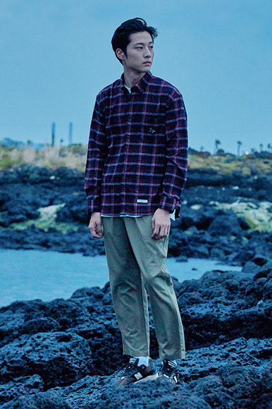 Sealion -  Highland Check Shirts [Red]
