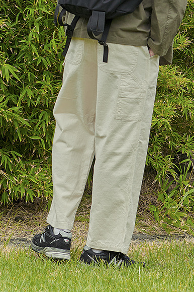 Multi Slab Carpenter Pants [Natural]