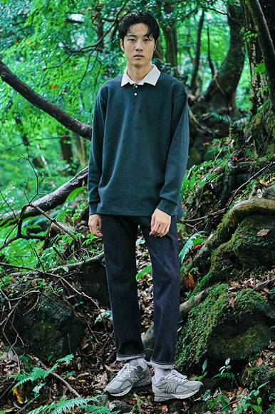 Rugger L/S T-Shirts [Green]