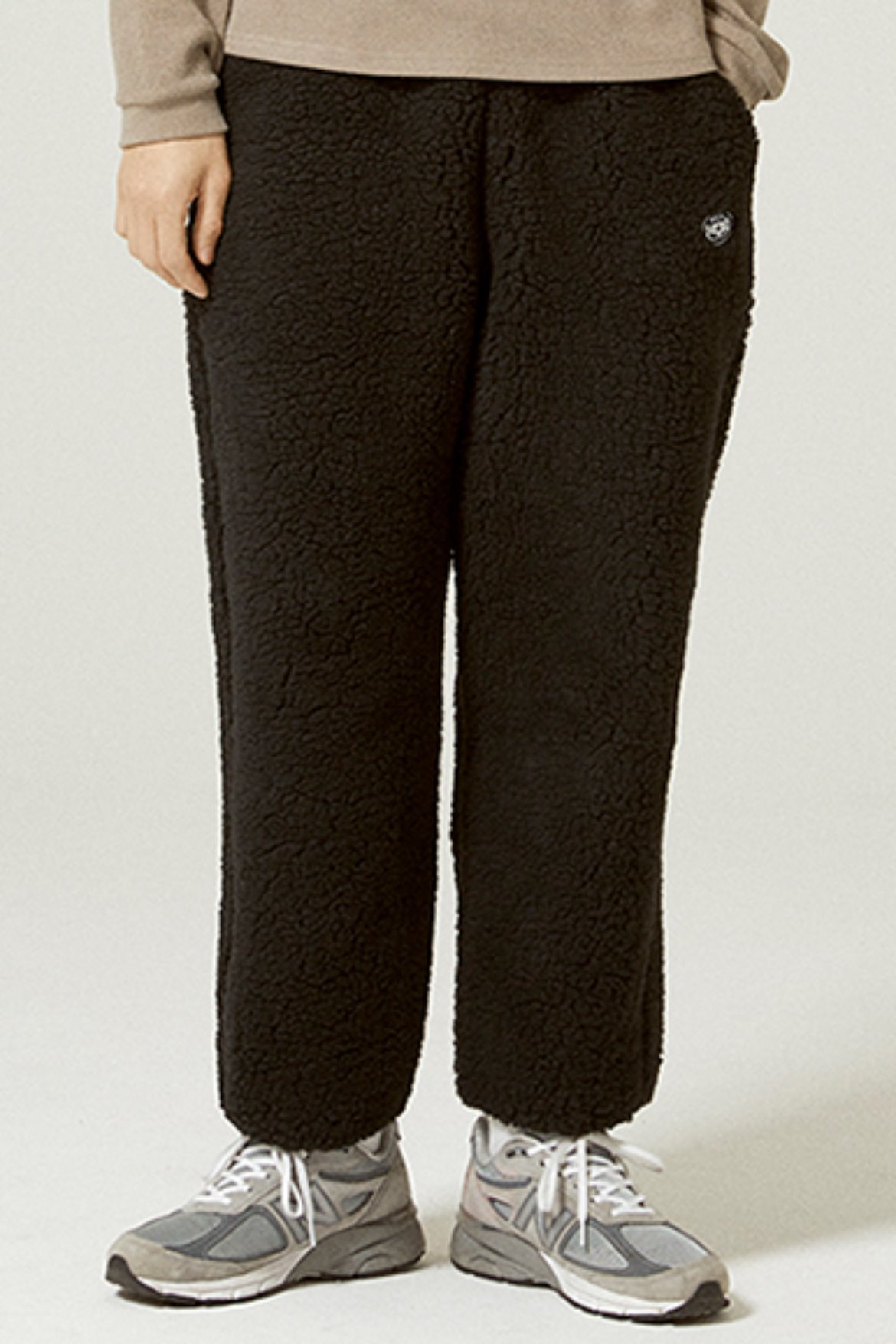 Fleece Easy Pants [Black]