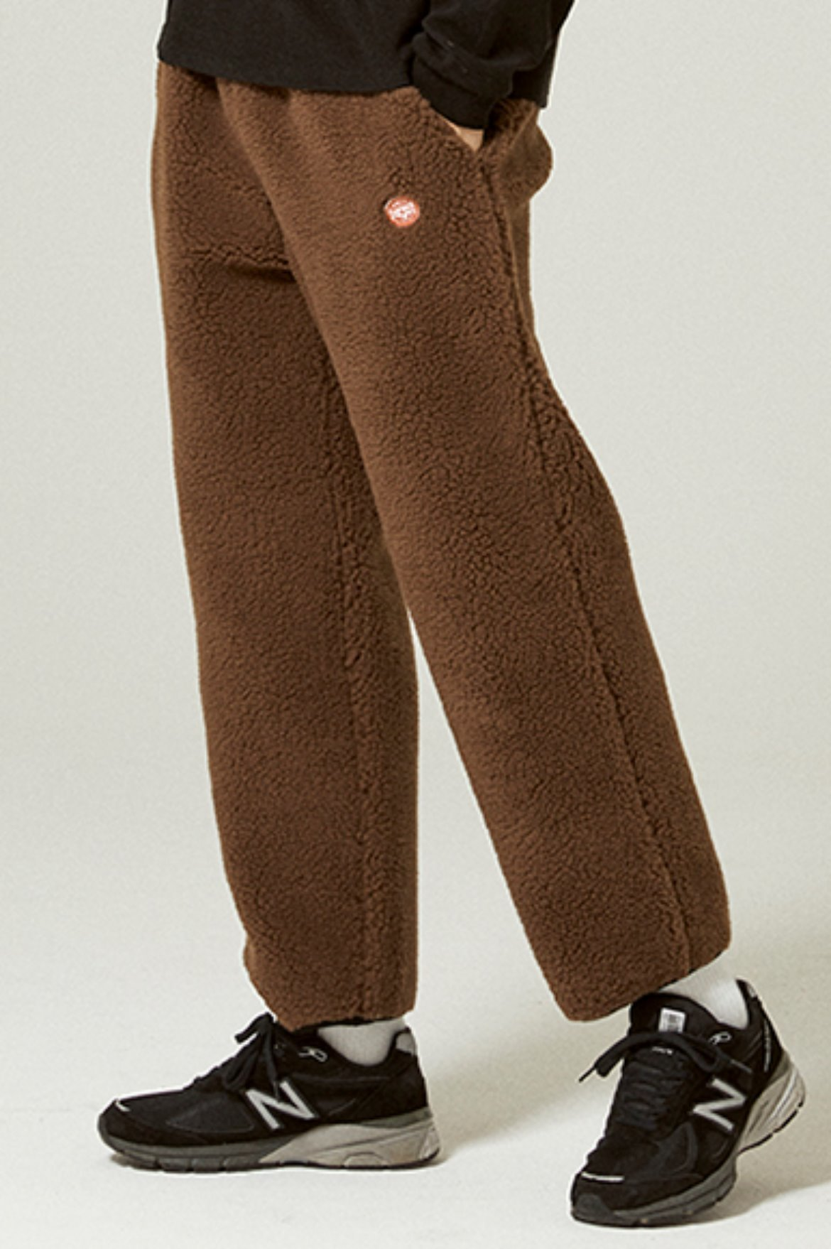 Fleece Easy Pants [Brown]