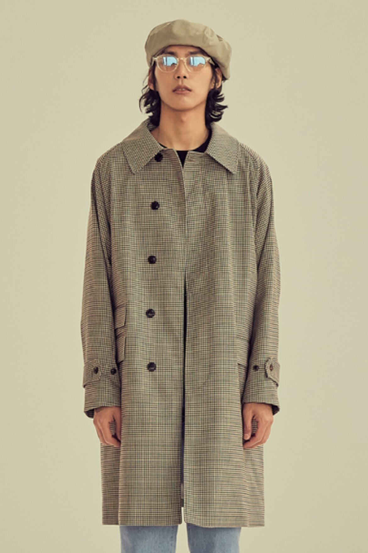 Gun Club Soutien Collar Coat