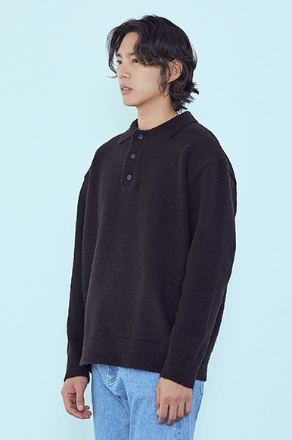 Soft PK Knit [Black]