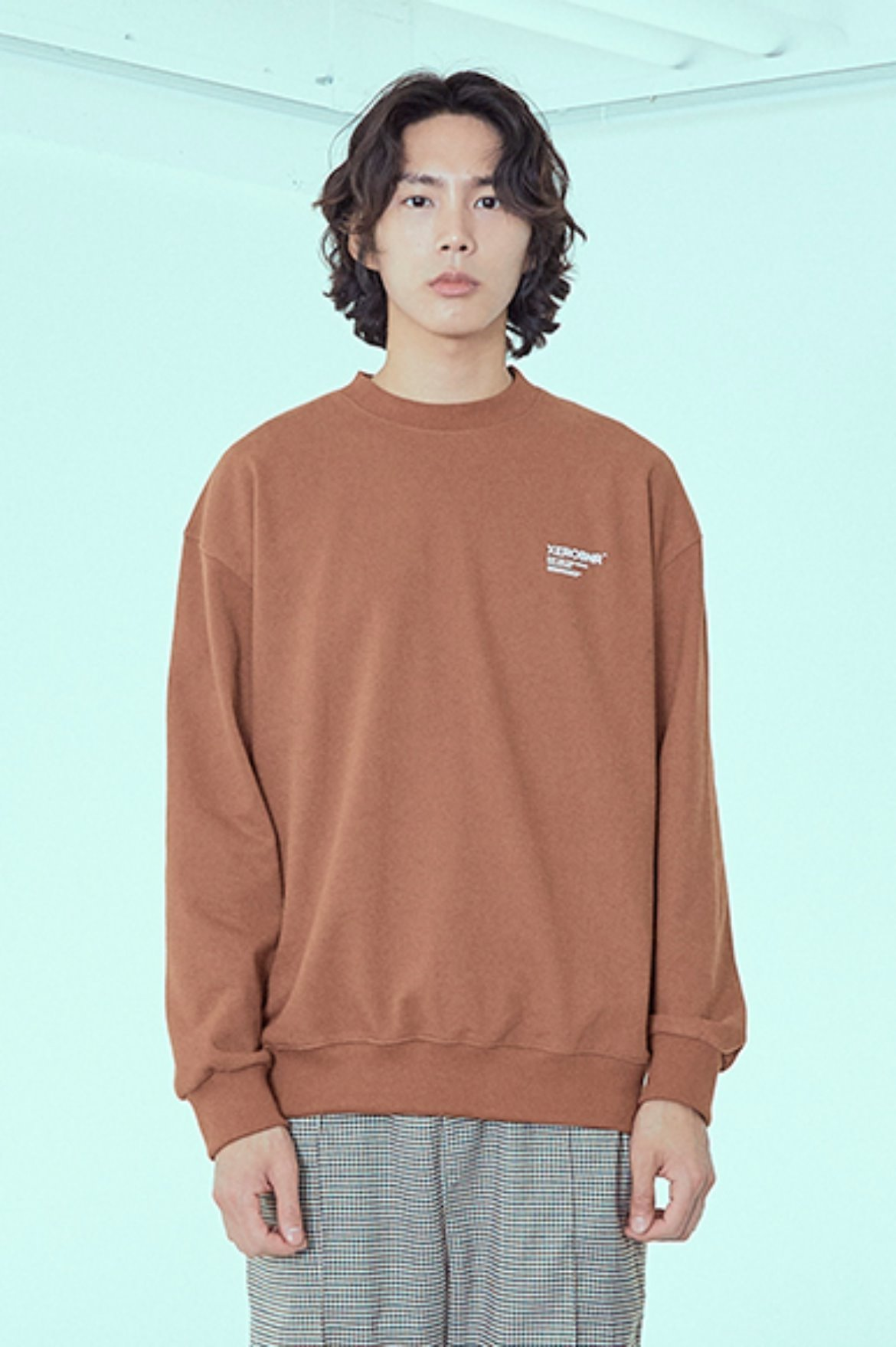 Easy Logo Sweat Shirts [Brown]