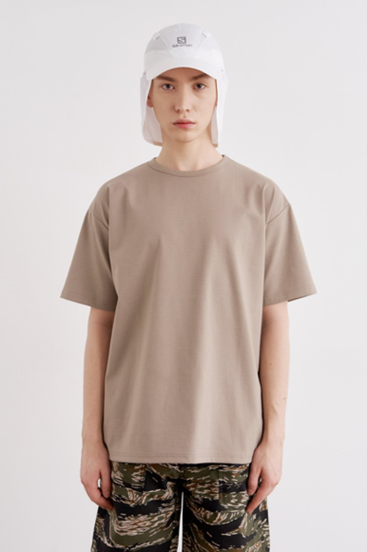 Cool Touch Regular Fit T-Shirts [Boston Khaki]