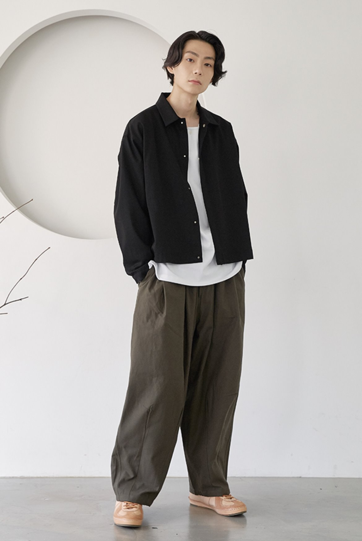 High Cotton Balloon Pants [Khaki]