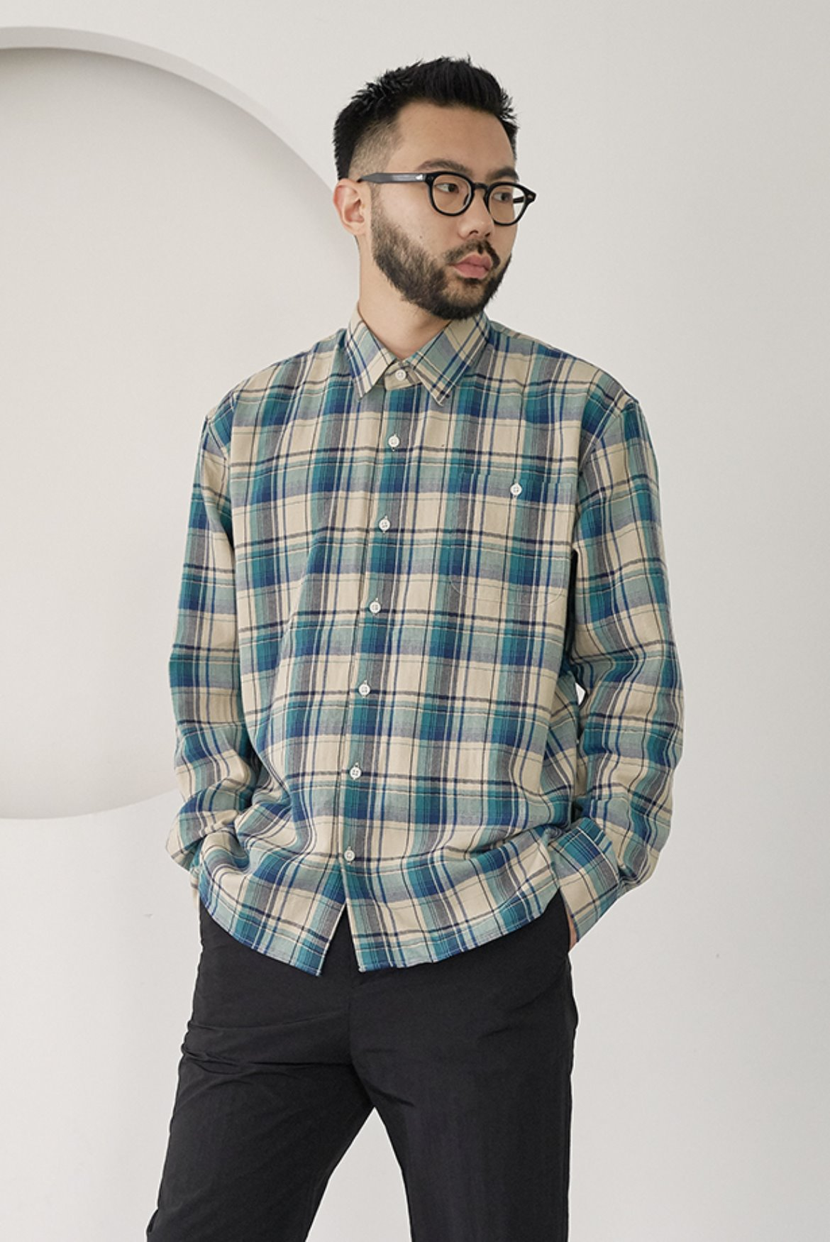 HBT Check Shirts [Green]