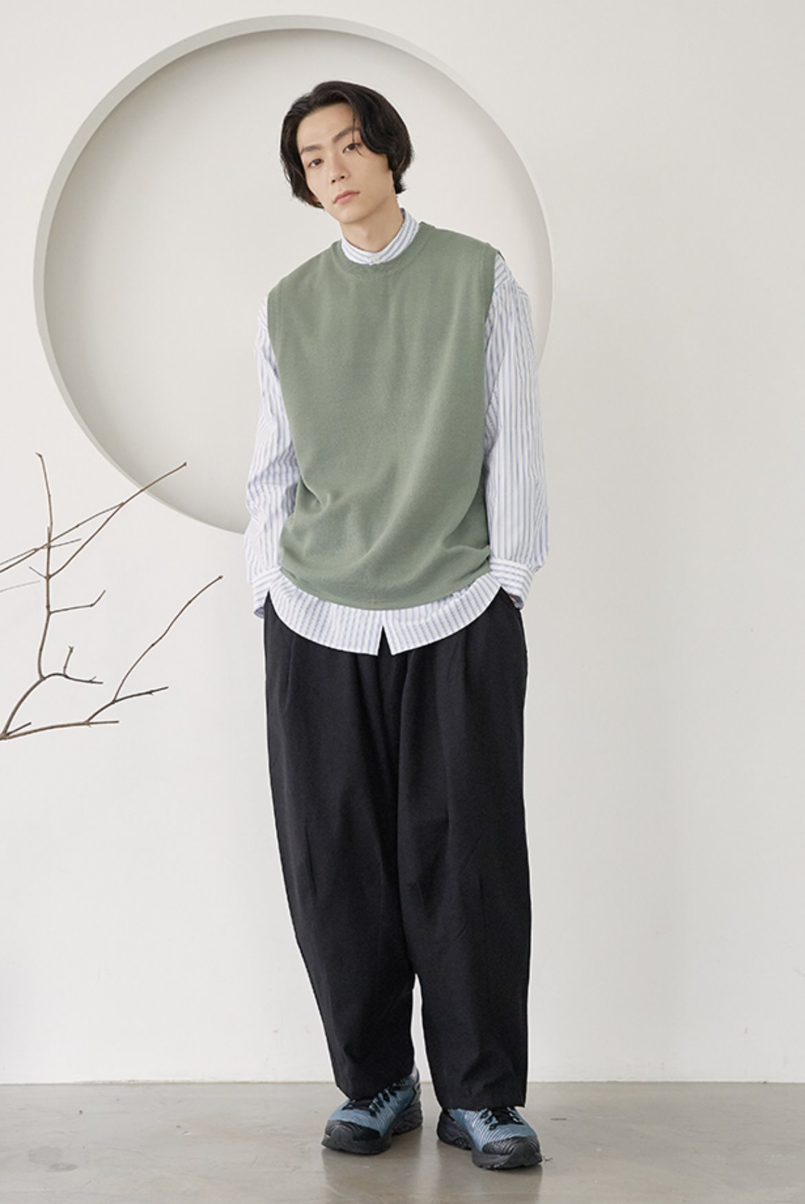 High Cotton Balloon Pants [Black]
