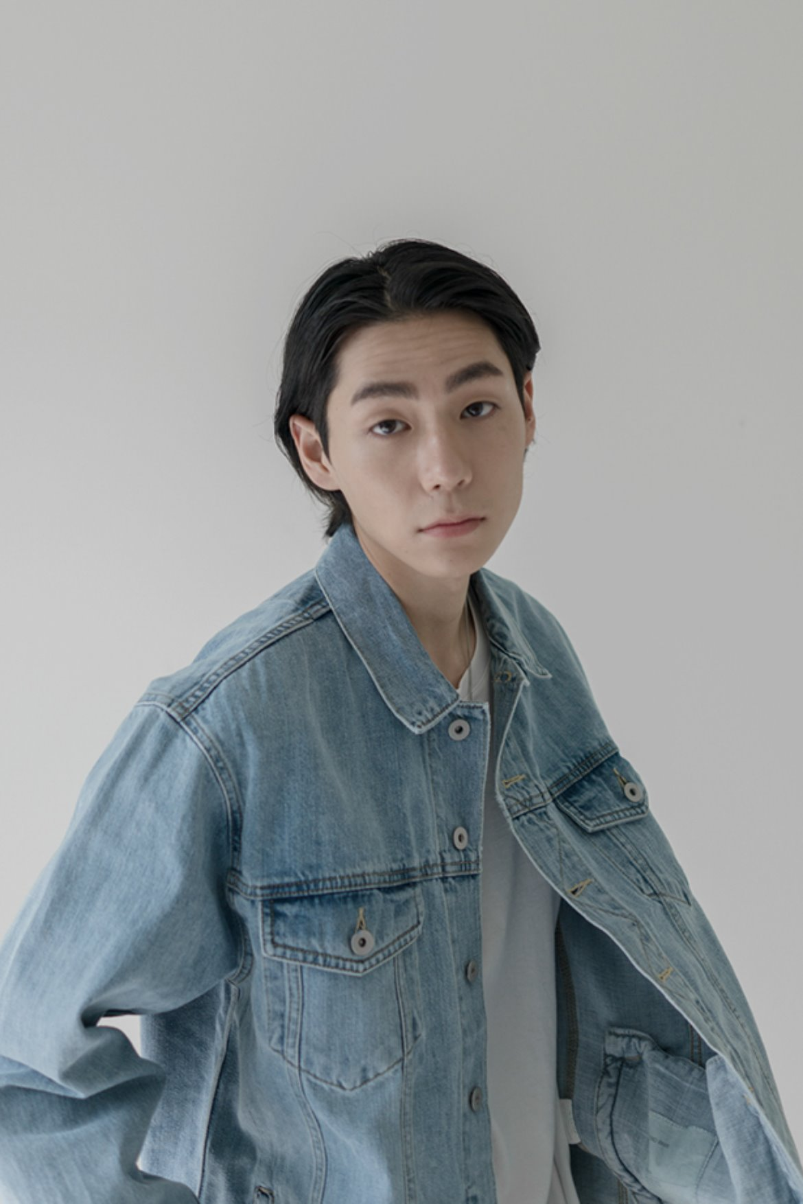 XERO - Oversized Denim Jacket [Light Blue]