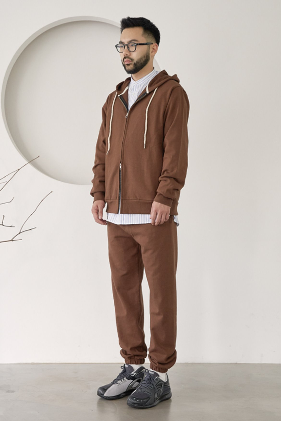 Classic Sweat Pants [Brown]