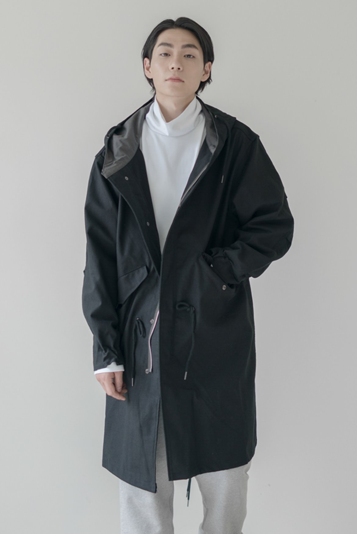 M-51 Fishtail Parka [Black]