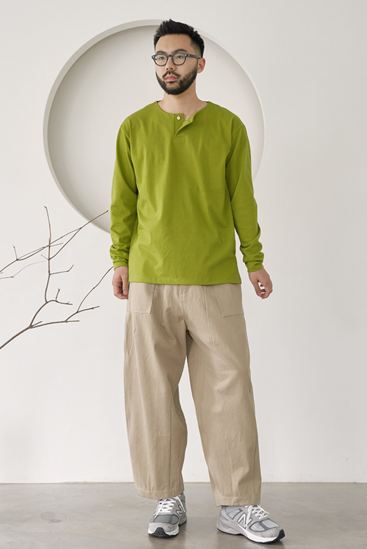Fatigue Balloon Pants [Beige]