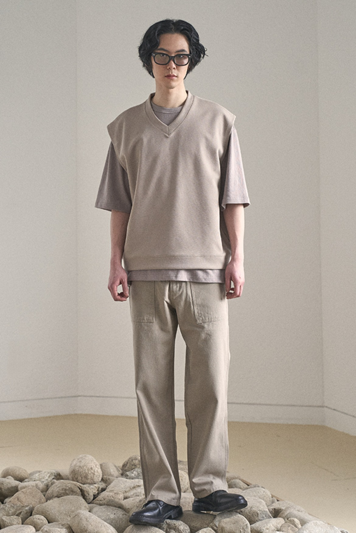British Fatigue Pants [Beige]