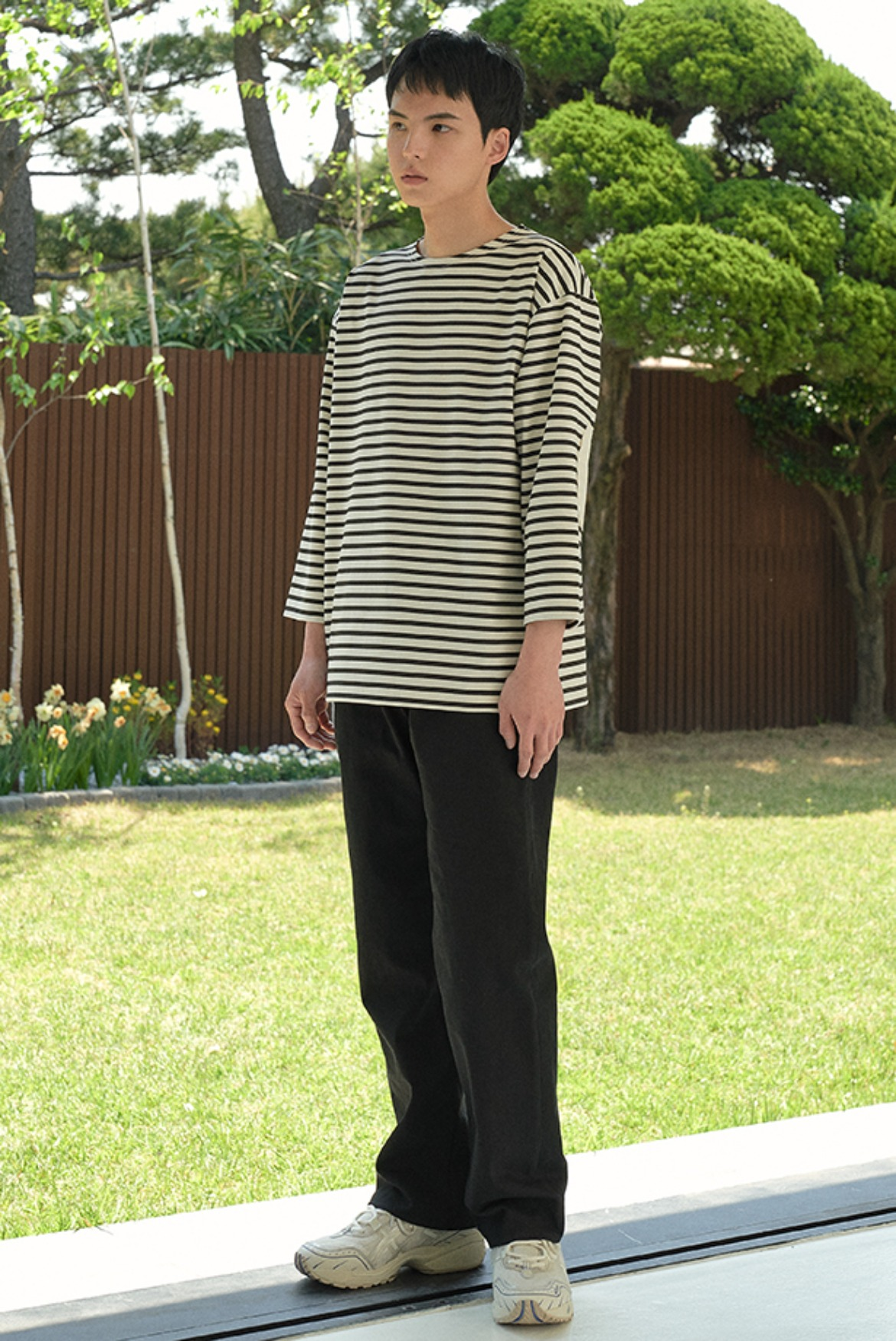 Wide Regular Pants [Black]