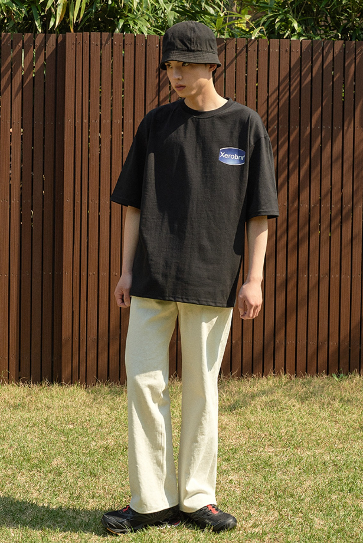 Wide Regular Pants [Cream]