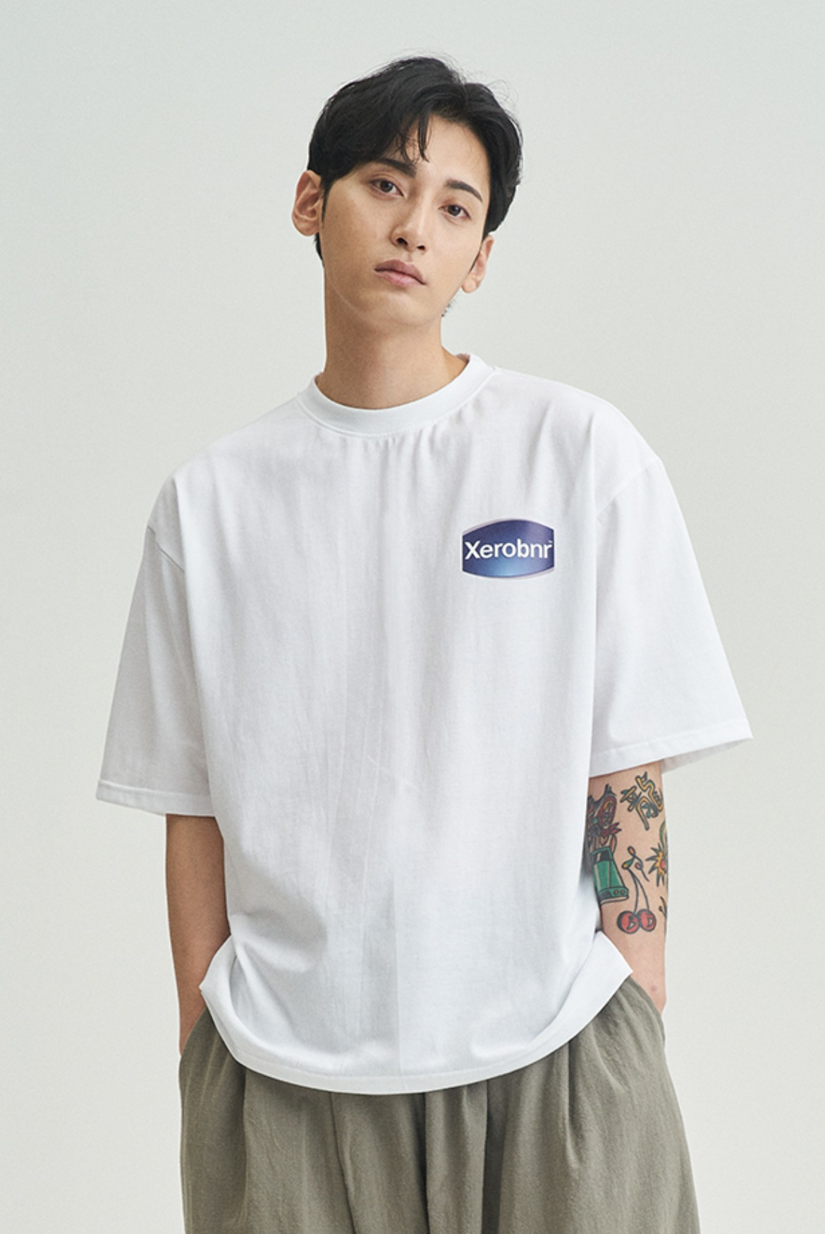 Xerobnr Lotion T-Shirts [White]