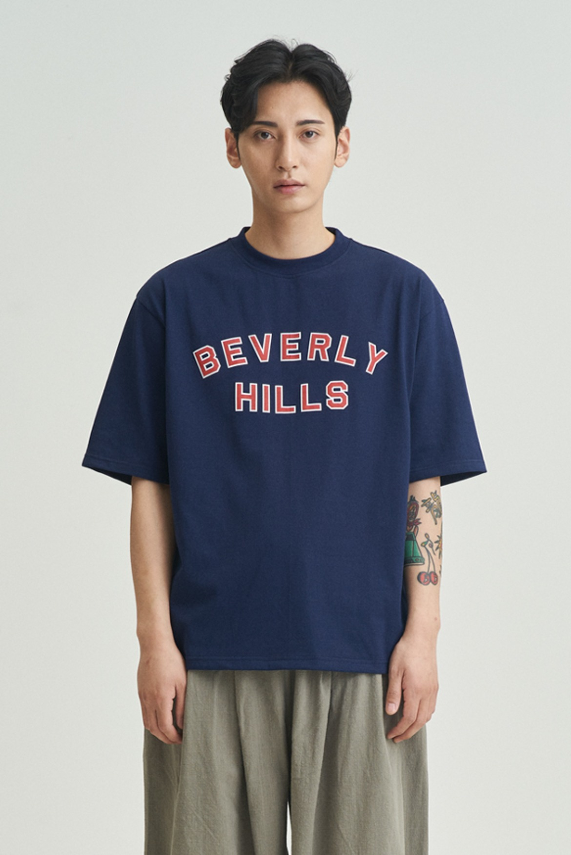 Beverly Hills T-Shirts [Navy]