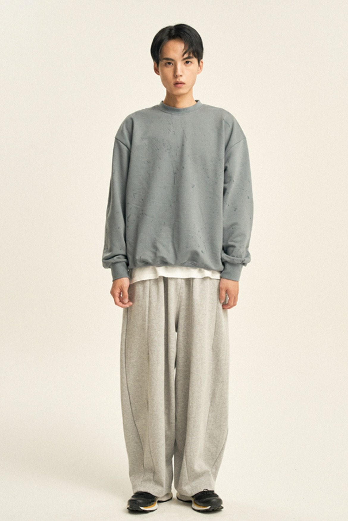 Balloon Sweat Pants [Grey]