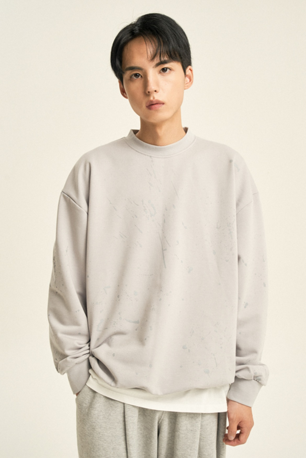 Painting Sweat Shirts [Grey]