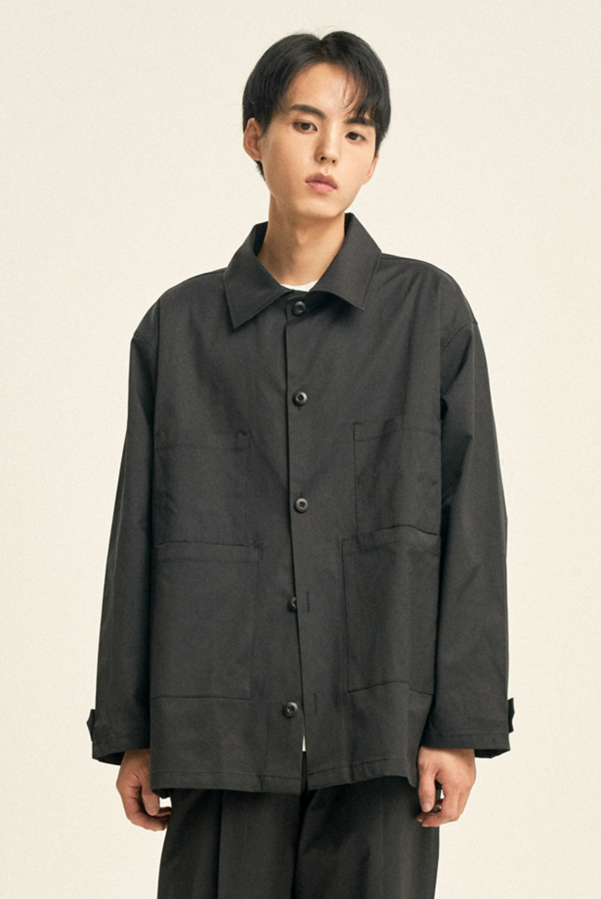 Luster Shirts Jacket [Black]
