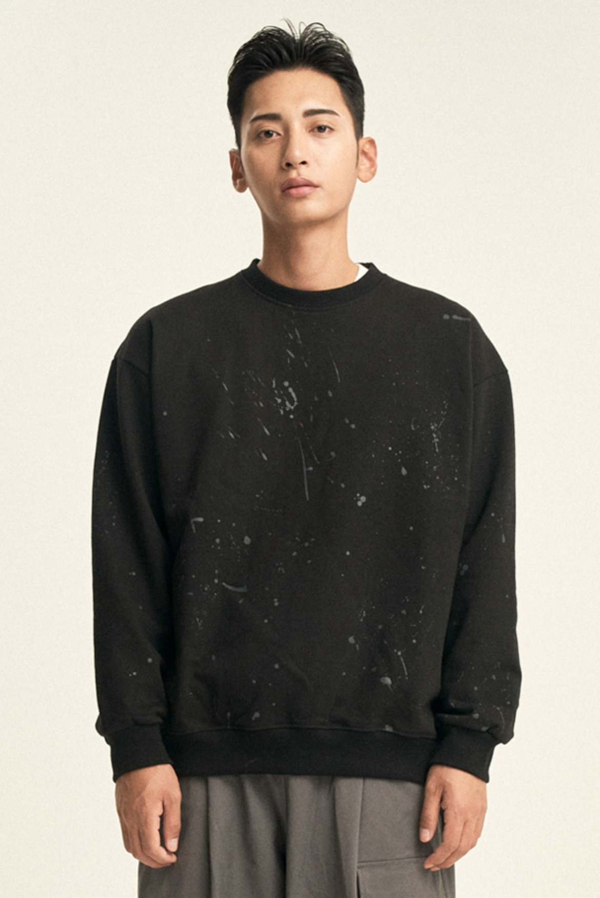 Painting Sweat Shirts [Black]