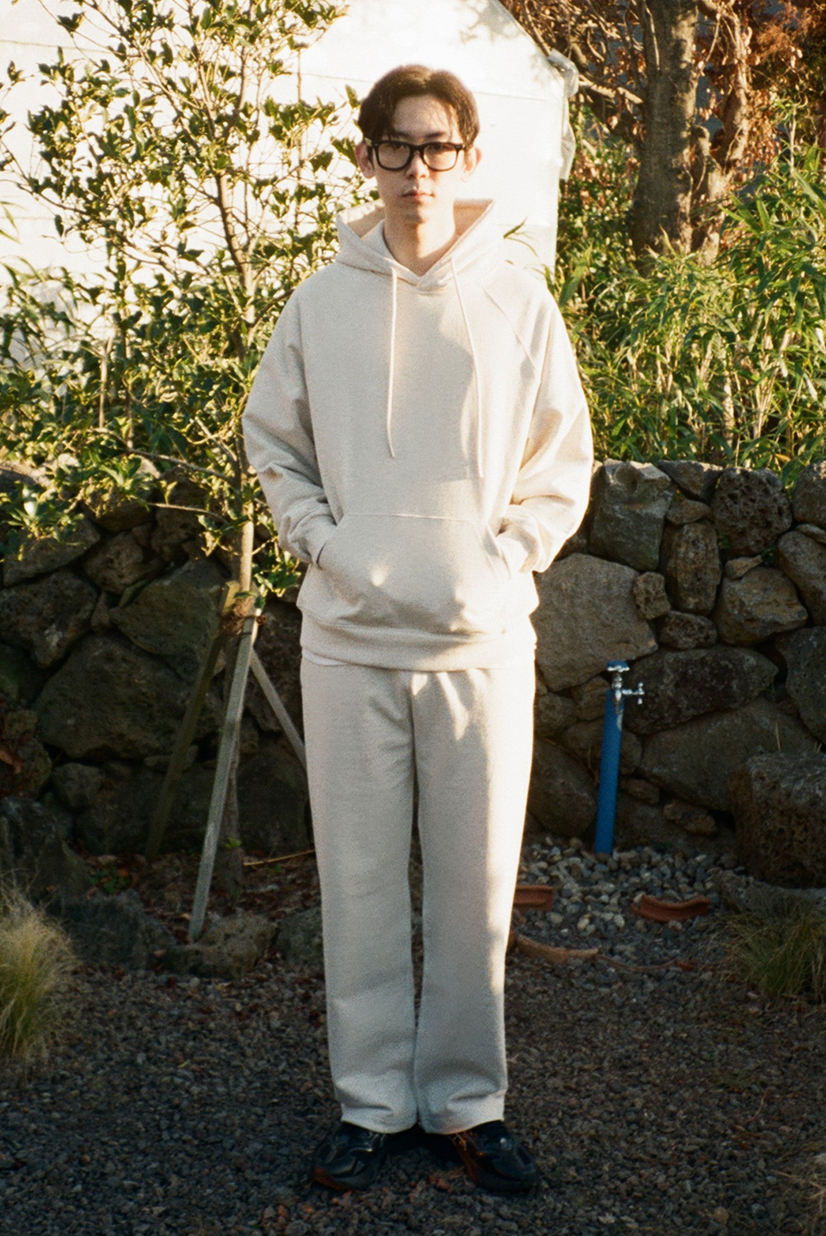 Classic String Sweat Pants [Oatmeal]