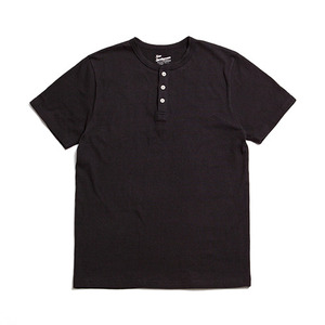 "XERO - Henry Neck T-Shirts ""Black"""